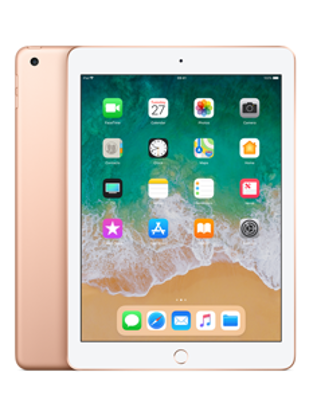 Picture of Apple iPad Wi-Fi Cellular 128GB - Gold (MRM82B)