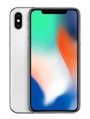 Picture of Apple iPhone X 256GB Silver (MQAG2B/A)