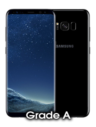 Picture of Refurbished Samsung Galaxy S8 Plus Black (Grade A)
