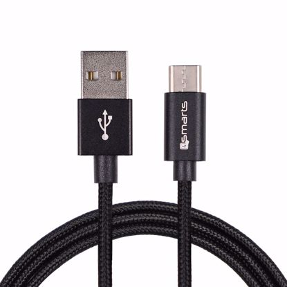 Picture of 4smarts 4smarts RAPIDCord 2m USB Type-C Cable in Black