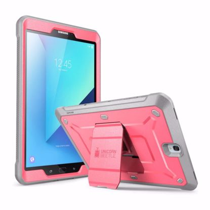 Picture of i-Blason i-Blason Unicorn Beetle Pro Case with Screen Protector for Samsung Galaxy Tab S3 9.7 in Pink/Grey
