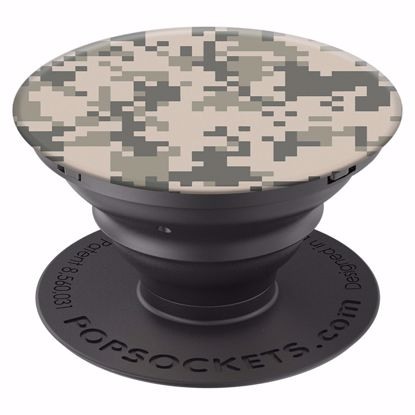 Picture of Popsockets PopSockets PopGrip for Smartphones and Tablets in Digital Camo