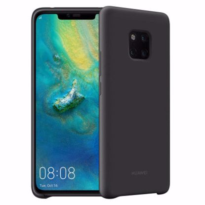 Picture of Huawei Huawei Silicone Case for the Huawei Mate 20 Pro in Black