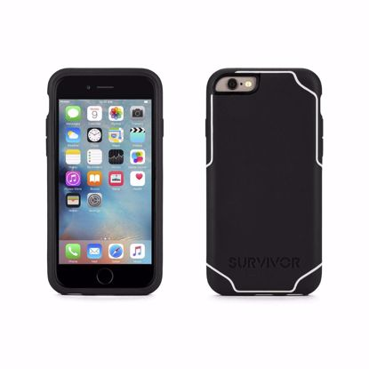 Picture of Griffin Griffin Survivor Case for Apple iPhone 6/6s in Black/White