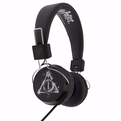 Picture of OTL OTL Harry Potter Smokey Deathy Hallows Tween Headphones