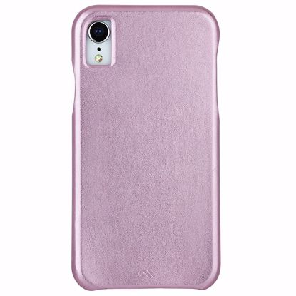 Picture of Case-Mate Case-Mate Barely There Leather Case for Apple iPhone XR in Metallic Blush