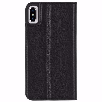 Picture of Case-Mate Case-Mate Wallet Folio Case for Apple iPhone XS Max in Black