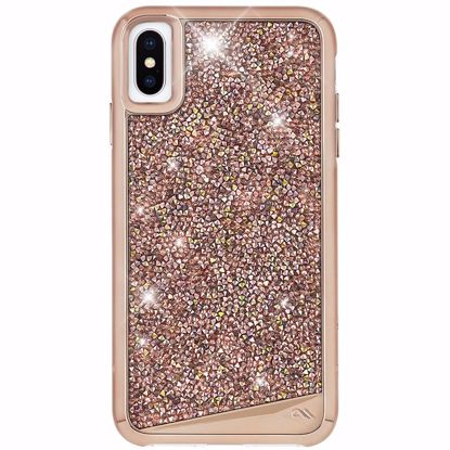 Picture of Case-Mate Case-Mate Brilliance Case for Apple iPhone XS/X in Rose Gold