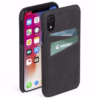 Picture of Krusell Krusell Sunne 2 Card Cover Case for Apple iPhone XR in Black