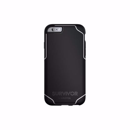 Picture of Griffin Griffin Survivor Journey Case for Apple iPhone 6/6s Plus in Black/White