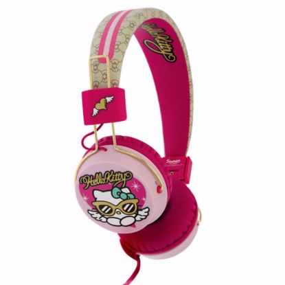 Picture of OTL OTL Hello Kitty Teen Headphones in Couture Kitty