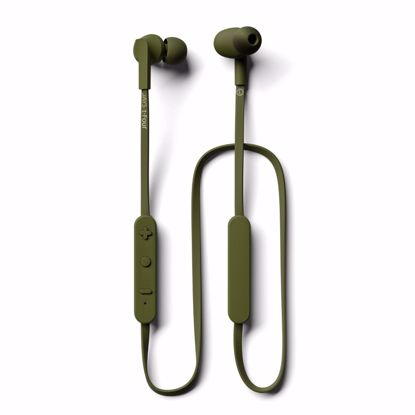 Picture of JAYS JAYS t-Four Wireless In-Ear Earphones with Mic in Moss Green
