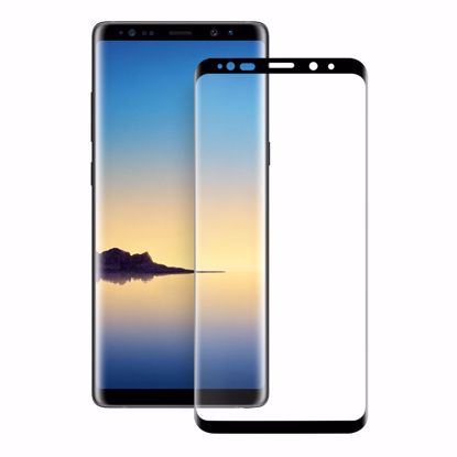 Picture of Eiger Eiger 3D GLASS Full Screen Tempered Glass Screen Protector for Samsung Galaxy Note 9 in Clear/Black