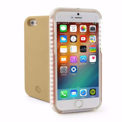 Picture of Casu Casu LED Selfie Case for Apple iPhone 6/6s Plus in Gold
