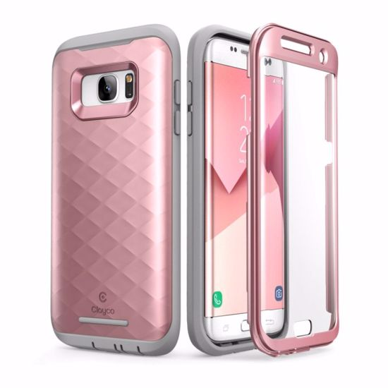 competitive price 5d7ab 73b11 Clayco Clayco Hera Case with Built-In Screen Protector for Samsung Galaxy  S7 Edge in Rose Gold