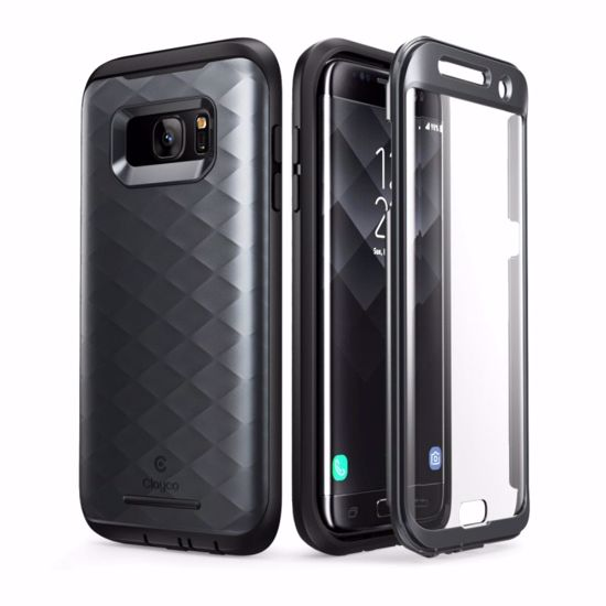 Clayco Clayco Hera Case with Built-In Screen Protector for Samsung Galaxy  S7 Edge in Black