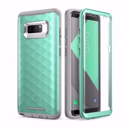 Picture of Clayco Clayco Hera Case with Built-In Screen Protector for Samsung Galaxy Note 8 in Mint Green