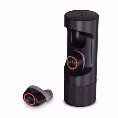 Picture of Verve Life Verve Life Verve Ones+ Music Edition Earphones in Black/Orange