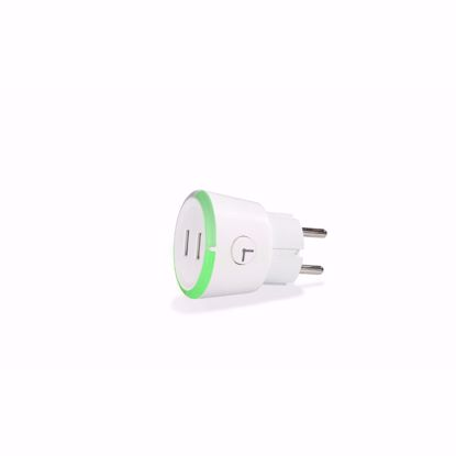 Picture of CAPiDi CAPiDi 3.4A EU 2 Pin Safe Timer Mains 1-4 Hrs Dual USB in White