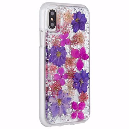 Picture of Case-Mate Case-Mate Karat Petals Case for Apple iPhone XS/X in Purple