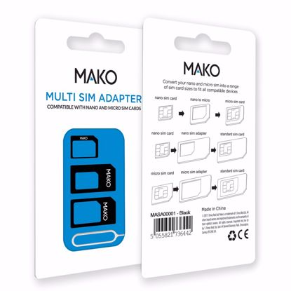 Picture of Mako MAKO Multi SIM Adapter in Black