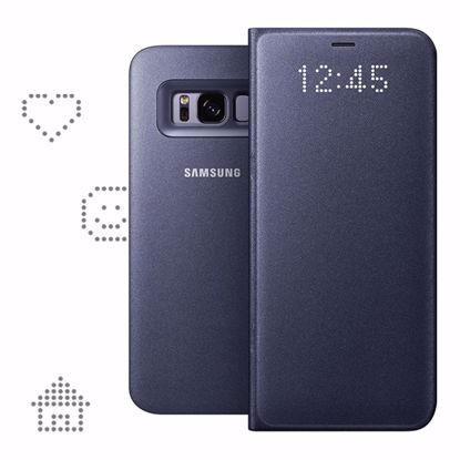 Picture of Samsung Samsung LED View Case for Samsung Galaxy S8 in Violet