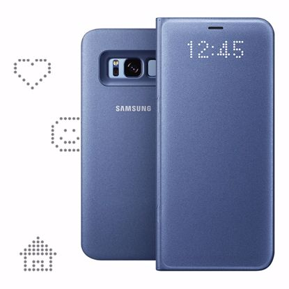 Picture of Samsung Samsung LED View Case for Samsung Galaxy S8 in Blue