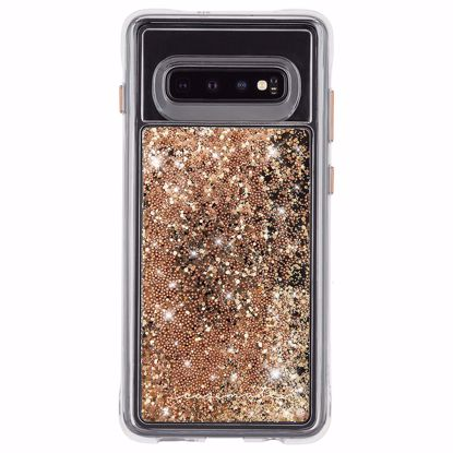 Picture of Case-Mate Case-Mate Naked Tough Waterfall Case for Samsung Galaxy S10+ in Gold