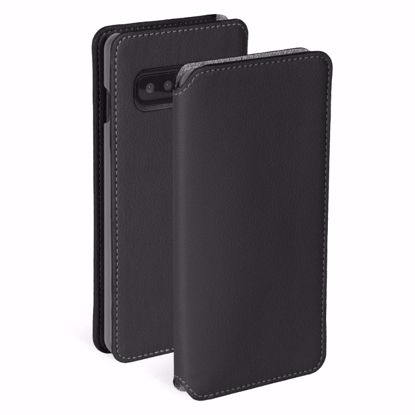 Picture of Krusell Krusell Pixbo 4 Card Slim Wallet Case for Samsung Galaxy S10+ in Black