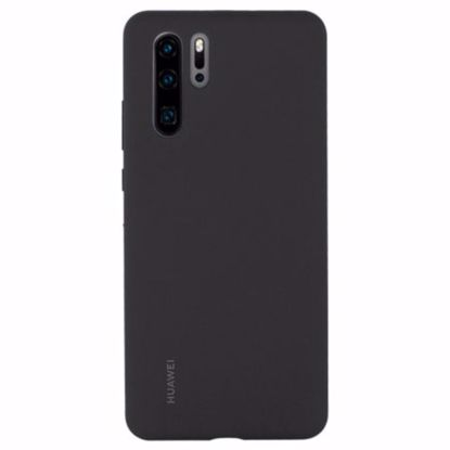 Picture of Huawei Huawei Silicone Protective Cover Case for Huawei P30 Pro in Black