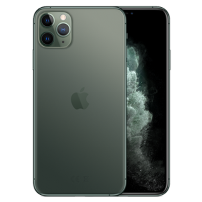 Picture of Apple iPhone 11 Pro Max 256GB Midnight Green (MWHM2B)