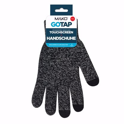 Picture of Mako MAKO GOTAP Touchscreen Gloves in M/L in Heather