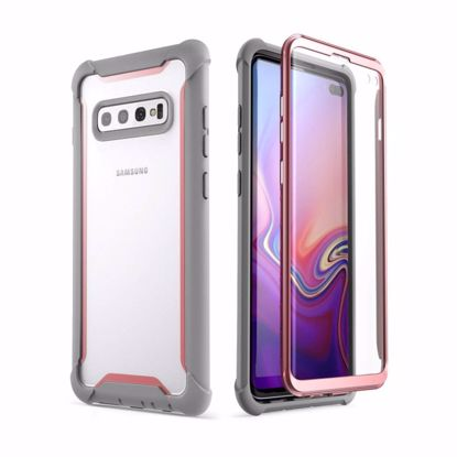 Picture of i-Blason i-Blason Ares Full Body Case with Screen Protector for Samsung Galaxy S10+ in Pink