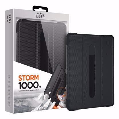 Picture of Eiger Eiger Storm 1000m Case for Apple iPad 9.7 (2017) & (2018) in Black