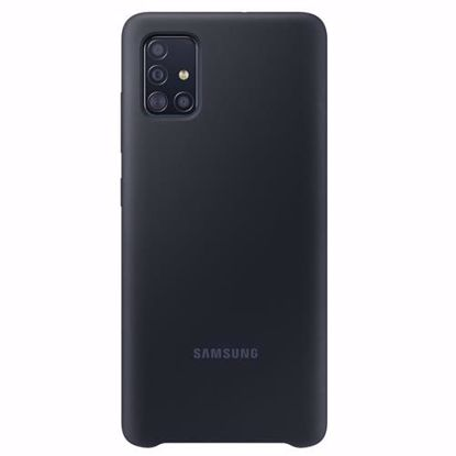 Picture of Samsung Samsung Silicone Cover for Samsung Galaxy A51 in Black