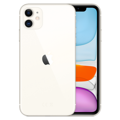 Picture of Apple iPhone 11 64GB White (MHDC3B)