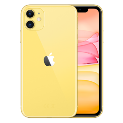 Picture of Apple iPhone 11 64GB Yellow (MHDE3B)