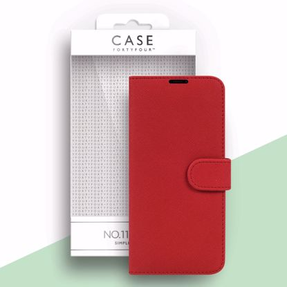 Picture of Case FortyFour Case FortyFour No.11 Case for Samsung Galaxy S21 in Cross Grain Red